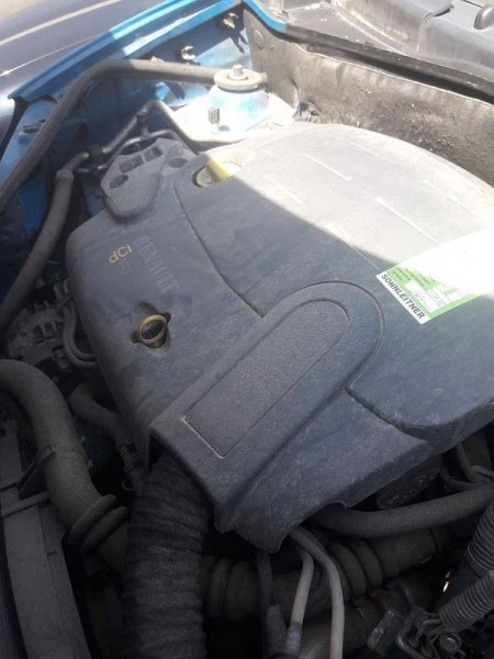 Renault Kangoo 1,5 CDI Komplettmotor